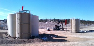 Image of recently completed well